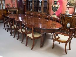 Esstisch Antike Edwardian Esstisch 12 Stühle Moderner Esstisch für