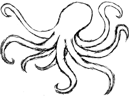 Small Picture octopus drawing Google Search Prints I want Pinterest