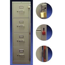 Abus Cabinet Locks Swing-Away File Bars | Anderson Lock