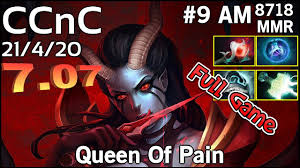 ccnc optic queen of pain dota 2 full game youtube