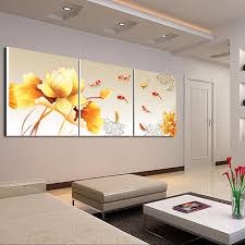 office wall painting.  Painting 3Piece Canvas Wall Art Koi Fish Modern Office Painting  Meeting Room Decoration Fashion Inside O