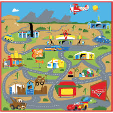 g a gertmenian sons 48 l x 24 w disney cars game kids rug