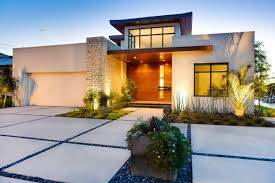 Modern Front Yard Home Design And Designs Trends Awesome Landscaping Ideas  Dance Drumming Green For Country