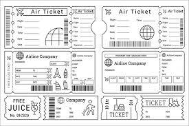 115 Ticket Templates Word Excel Pdf Psd Eps Free Premium