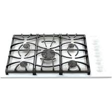 sealed burner gas cooktops stainless steel gas sealed burners professional group