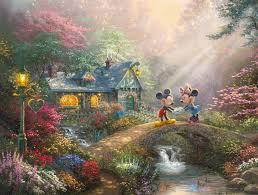 mickey and minnie sweetheart bridge