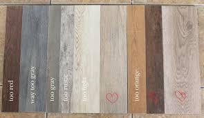 remarkable ideas wood floor vs tile our flooring solid wood vs faux wood tile chris loves
