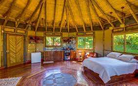 Modern Bamboo House Interior Design Costa Ricas Best Place To Stay A Cozy Bed Breakfast