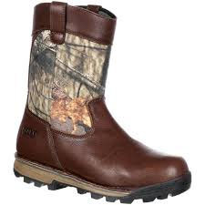 rocky traditions waterproof 400g insulated wellington boot large