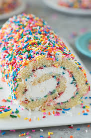 Funfetti Cake Roll The First Year