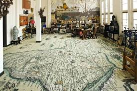 world map area rug the world at your feet a map rug from italy remodelista vintage