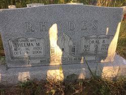 Thelma M. Rhodes (1920-2006) - Find A Grave Memorial