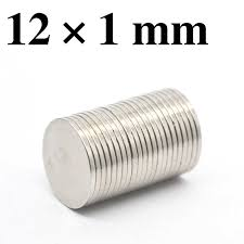 HYSAMTA <b>10/20</b>/50/100pcs <b>N50 12mm x</b> 1 mm Strong Round ...