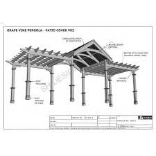 eye catching free patio cover blueprints astounding plans build your or deck free patio cover blueprints u70