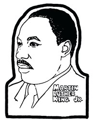 Martin Luther King Coloring Pages Free Civil Rights Coloring Pages ...