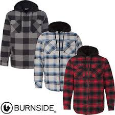 Burnside - New for 2017! Quilted Flannel Men's Full-Zip Hooded ... & Image is loading Burnside-New-for-2017-Quilted-Flannel-Men-039- Adamdwight.com