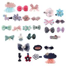 <b>7Pcs Pet</b> Bowknot Hair Clips Accessories Grooming Hairpins for ...