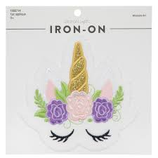 <b>Unicorn Iron</b>-<b>On</b> Applique | Hobby Lobby | 1866714