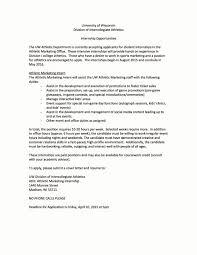 Marketing Intern Resume New Sports Business Club At Uw Madison