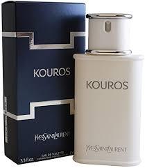 <b>Yves Saint Laurent Kouros</b> for Men - 3.3 Ounce EDT Spray: Amazon ...