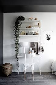 home office work room furniture scandinavian. string shelves and work space in a beautiful smart tiny one room flat finland home office furniture scandinavian