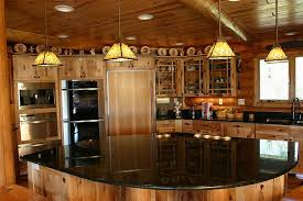 cabin kitchen design. Delighful Cabin Enchanting Log Cabin Kitchen Ideas Fancy Design Trend 2017 With  Home To