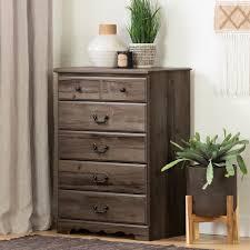 Orange 7 Drawer Dresser By Trent Austin Design Classic Country Oak Brown Chest Of Drawers Prairie