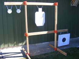 1 of 7free tommy pistol rack stand kit diy hang your ar500 gong shooting targets