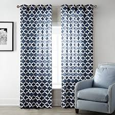 Geometric Pattern Curtains Magnificent Geometric Pattern Curtains Amazon