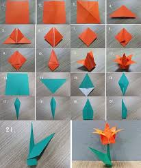 How To Make Origami Paper Flower How To Make Origami Art Topaustria Info
