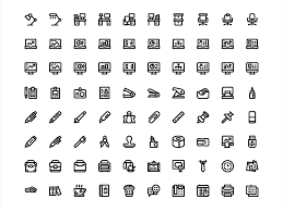 80 Office Icons Sketch Freebie Download Free Resource For Sketch