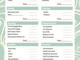 simple printable budget worksheet printable monthly budget template simple bud worksheet free