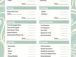simple printable budget worksheet printable monthly budget template simple bud worksheet free