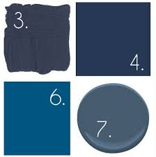 Navy colors for master bathroom vanity More