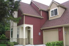 exterior color schemes with red roof. schemes exterior house color ideas with red roof