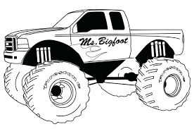 sparky the fire dog. sparky the fire dog coloring pages monster truck color book: full size