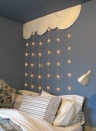 diy room lighting ideas. String Lights Above Bed Diy Room Lighting Ideas