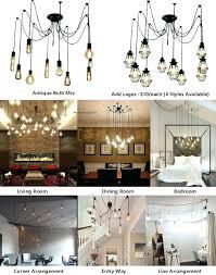 edison pendants bulb bronze multi light pendant industrial chandelier pendant light chandelier modern lighting hangout edison