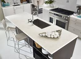 modern kitchen with dupont zodiaq quartz countertops sold at sergenian s