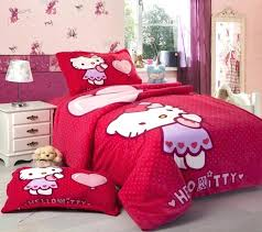 Hello Kitty Bed Set Bedroom Hello Kitty Bed Sheets King Size Bedroom Set  Hello Kitty Bedroom .