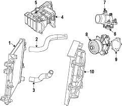parts com® jeep radiator grand cherokee 3 0l diesel 2008 jeep grand cherokee limited v6 3 0 liter diesel radiator components