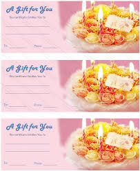 birthday gift certificate templates gift certificate templates printable dolly birthday gift certificate template
