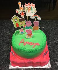 Peppa Pig Birthday Cake By Adrienne Clouthier Montoya Musely