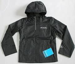 Columbia Xxs Size Chart Columbia Girls Size Xxs Xs S Waterproof Arcadia Jacket Black