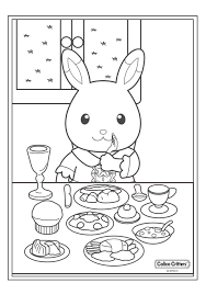 17 Coloring Pages Of Calico Critters On Kids N Funcouk
