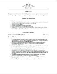 Hr Assistant Resume Objective Samples Hr Resume Example Hr Assistant