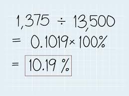 como calcular a variação percentual 6