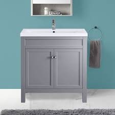 traditional bathroom vanity sink unit