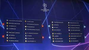Alle spiele und ergebnisse der champions league 2020/2021 im überblick. Champions League Auslosung Der Gruppenphase 2018 19 Live Im Tv Live Stream Und Live Ticker