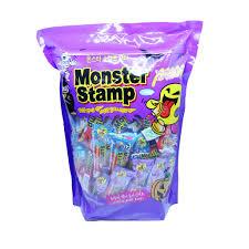 Kẹo con dấu quái vật nhiều vị Sweetory- Monster Stamp Candy 1064g giá cạnh  tranh